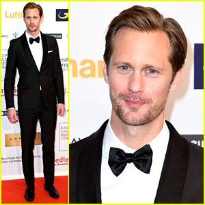 Alexander Skarsgard Shows Tarzan Can Clean Up in a Tuxedo!
