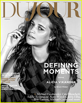 Alicia Vikander Puts Her Ballet Shoes Back On for 'Du Jour'