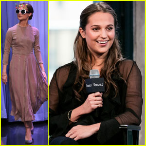 Alicia Vikander Reveals How She Found Out About Her Golden Globe Nominations (Video)