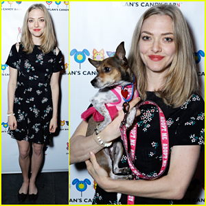 Amanda Seyfried & Pup Finn Team Up For Charity!