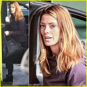 Ashley Greene Hits the Gym for a Winter Workout