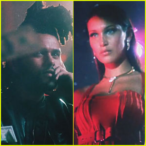 Bella Hadid Stars in The Weeknd's 'In the Night' Music Video!