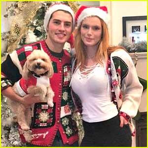 Gregg Sulkin Spends Christmas With Girlfriend Bella Thorne in LA