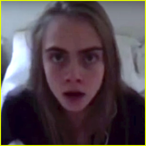 Cara Delevingne Plays Mr. Turkey Head in 'Love' Mag Advent Video