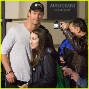 Chris Hemsworth Once Got Got Heckled by Prisoners: 'Yo Thor!'