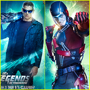 Wentworth Miller & Brandon Routh Are Ready For The Fight In New 'Legends of Tomorrow' Character Posters