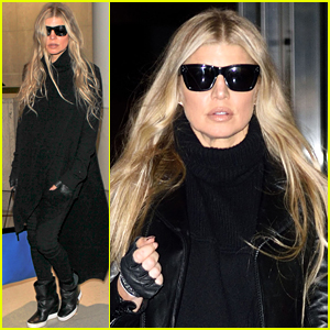 Fergie Struts Her Stuff At the Airport