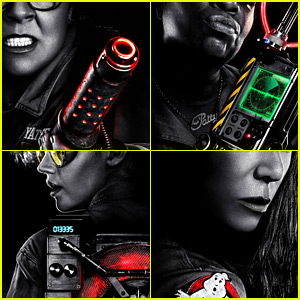 'Ghostbusters' Female Reboot Character Posters Unveiled!