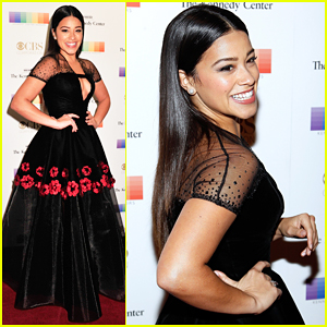 Gina Rodriguez Takes Prom Photo with Hamilton's Lin-Manuel Miranda At Kennedy Center Honors!