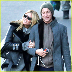 Heidi Klum Enjoys Peace & Quiet with Boyfriend Vito Schnabel