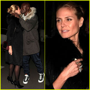 Heidi Klum & Seal Kiss During Holiday Family Outing