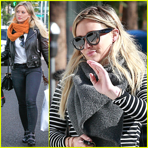 Hilary Duff Indulges in Some Holiday Shopping in L.A.