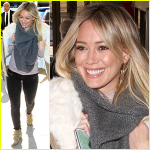 Hilary Duff Says Goodbye West Coast, Hello Big Apple
