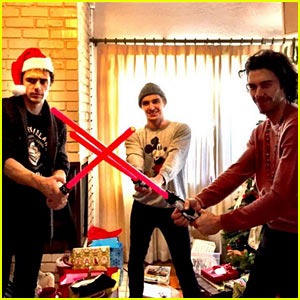 The James Franco 'Force' Awakens on Christmas