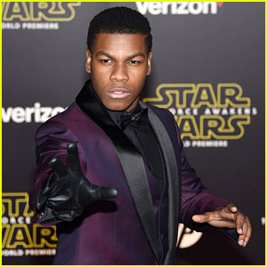 John Boyega Talked BB-8 Down From a Ledge- Watch Now