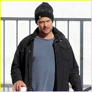 Josh Duhamel Grabs Breakfast After the Christmas Weekend
