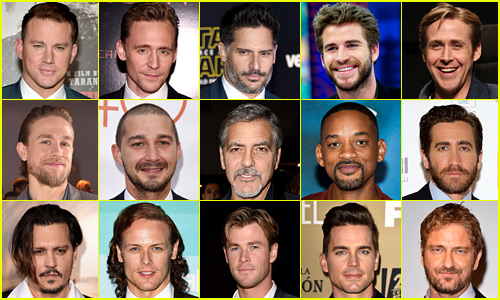 Just Jared's Top 25 Most Popular Actors 2015 (Year End Recap)