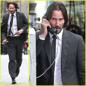Keanu Reeves Wraps Up 'John Wick 2' NYC Filming Before Holidays!
