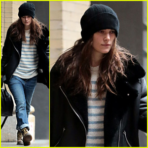 Keira Knightley Wraps Up Her Christmas Weekend in NYC