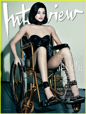 'Interview' Mag Responds to Kylie Jenner Wheelchair Backlash