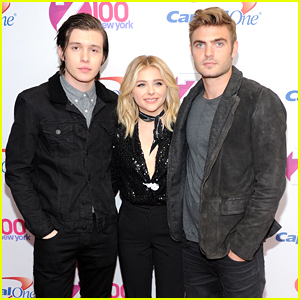 Chloe Moretz Brings Alex Roe & Nick Robinson to Z100's Jingle Ball 2015