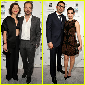 Maggie Gyllenhaal Supports Peter Sarsgaard at Gotham Awards 2015
