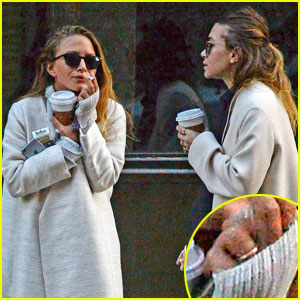 Mary-Kate Olsen Shows Off Simple Gold Wedding Band in NYC