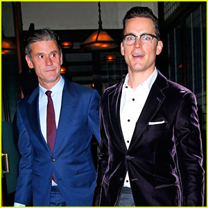 Matt Bomer & Husband Simon Halls Are Two Dapper Dudes!