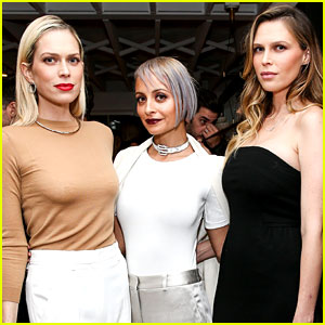 Nicole Richie Hosts The Line's Holiday Party with The Fosters