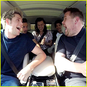 One Direction Does Carpool Karaoke with James Corden (Video)