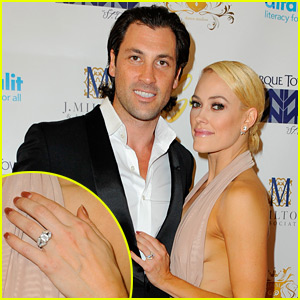 Peta Murgatroyd & Maksim Chmerkovskiy Are Engaged - See Her Huge Ring!