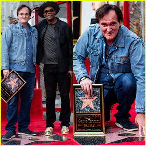 Quentin Tarantino Honored with Star on Hollywood Walk of Fame