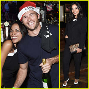 Scott Eastwood & Rosario Dawson Help Geoff Stults At Birthday Party Fundraiser!