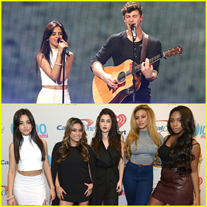 Shawn Mendes & Camila Cabello Reunite For Y100's Jingle Ball 2015