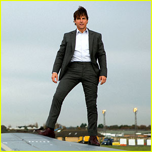 Tom Cruise Stands On a Plane in Exclusive 'Mission: Impossible - Rogue Nation' Photos!