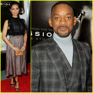 Will Smith Keeps It Dapper at 'Concussion' Premiere in NYC