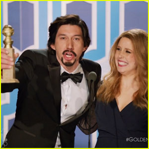 Adam Driver Pokes Fun at Golden Globes During 'Saturday Night Live' - Watch All Of His Sketches Here!