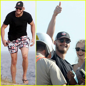 Alexander Ludwig Gets in Trouble With the Law During Uruguay Vacation