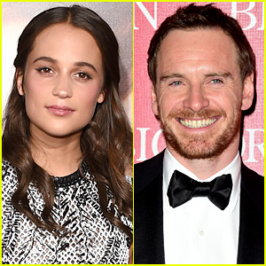 Alicia Vikander Dishes on New Year's Eve with Michael Fassbender