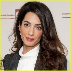 Amal Clooney Gives First American Television Interview (Video)