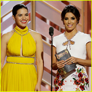 Eva Longoria & America Ferrera Call Out Latina Name Confusion at Golden Globes 2016