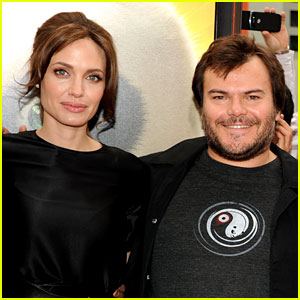 Angelina Jolie Invites Jack Black Over for Easter Every Year!