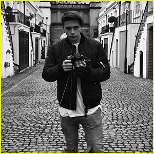 Brooklyn Beckham Photographs Burberry's New Campaign