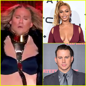 Channing Tatum Dresses as Beyonce, Performs 'Girls' on 'Lip Sync Battle' - Watch Now!