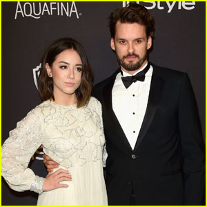 Chloe Bennet & Austin Nichols Couple Up for InStyle's Golden Globes Bash 2016