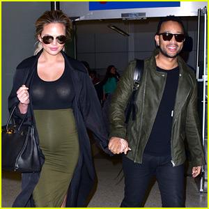 Chrissy Teigen & John Legend Are a Color Coordinated Couple!