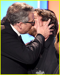 Christian Bale Made Out with 'Big Short' Director Adam McKay at Critics' Choice Awards 2016