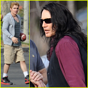 James & Dave Franco Are Unrecognizable on 'Artist' Set