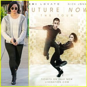 Demi Lovato & Nick Jonas Unveil New 'Future Now' Tour Poster