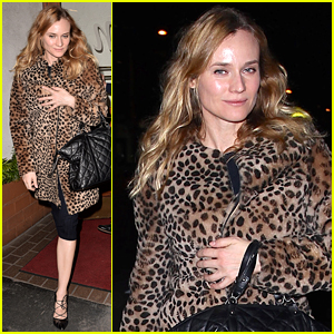 Diane Kruger is Nervous for Her Cat's First Plane Ride